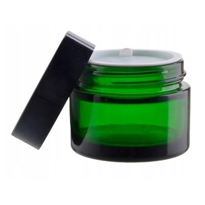 Słoik SŁOICZEK szklany zielony szkło 30ml UREA