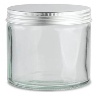 Słoik szklany bezbarwne 120ml z aluminiową nakrętką